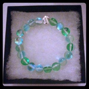 Jewelry - Spring Green Moonstone Bracelet